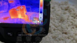 風速測試熱影像