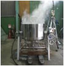 一般蒸氣式二重釜