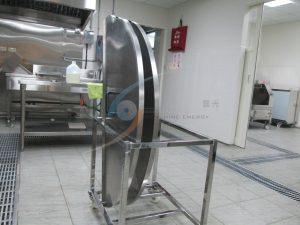不鏽鋼製鍋蓋架