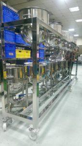 移動式食品級不銹綱設備,工作流程簡單易操作