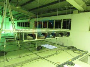 空調送風機安裝及配線