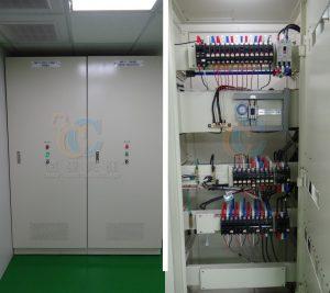 煮區電盤控制箱安全設計簡易管制操作區