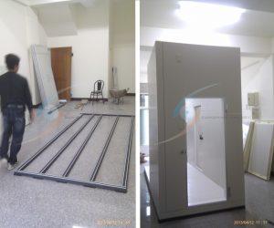 冷凍庫板施工