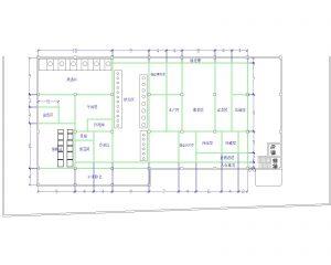 央廚空間平面圖