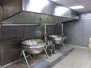 蒸氣二重鍋&蒸氣煙罩