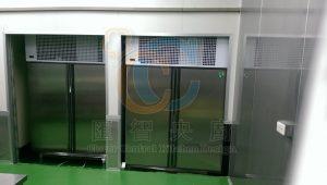 雙開省電高馬力傳遞冰箱,減少人流交叉污染
