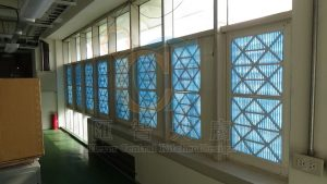簡易氣窗型拆裝空氣過濾網