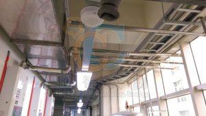 廢氣排放管路配置
