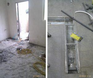 泥作施工&不鏽鋼排水溝施工
