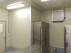 包裝室環境好,設備雙開,方便操作又衛生