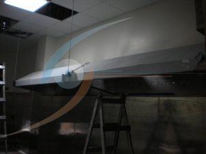 不鏽鋼煙罩吊掛架設