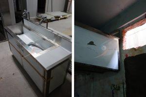 客製化不鏽鋼水槽