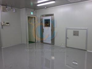 無塵庫板搭配EPOXY地板,抗靜電防塵易清潔