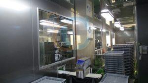 自動化的成品包裝產線,產品包裝完成才離開包裝室