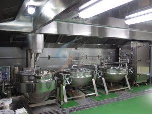 自動炒食機&蒸氣二重鍋-烹煮區