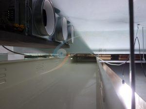 空調送風機&線槽架