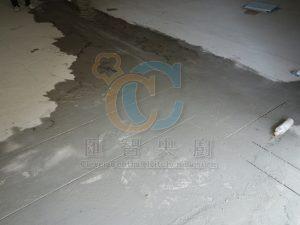 地線切割 - 鋪設不鏽鋼水溝前置工程