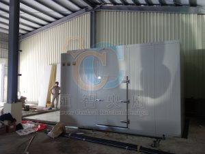 冷凍庫體施工