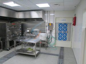 小型火鍋業者中央廚房烹煮區