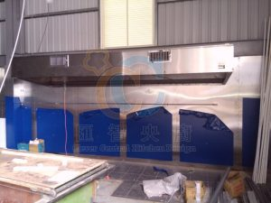 不鏽鋼壁板&油煙罩施工