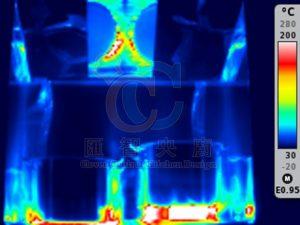 熱影像 測溫度 室內溫度 風向圖