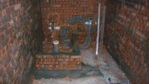 給排水管道施工與止水墩施作