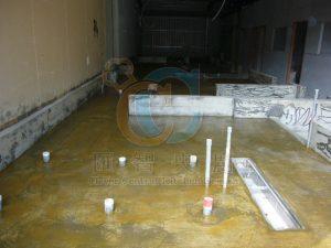 食品級地板施工前前置作業