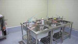 冷熱不銹鋼水槽