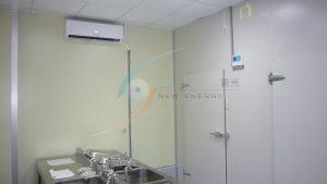 空調系統控制溫濕度,保持低溫乾燥細菌不孳生