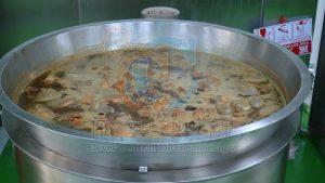 多段式直火不銹鋼瓦斯爐煮鍋,管制鮮色度