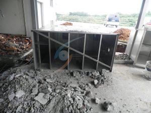 埋入式油脂截油槽