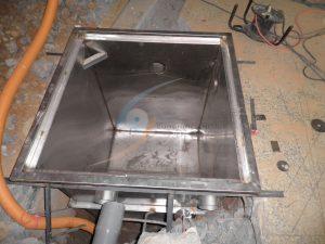 小型油脂截油槽
