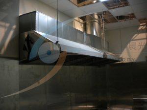煮區正負壓節能控制設計,提升工作區換氣率