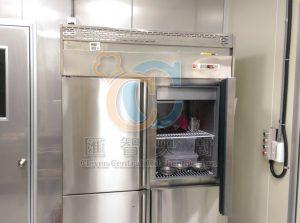 雙門對開冰箱,物料傳遞與暫存一次完成