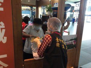 中市抽驗車站便當 1件複驗大腸桿菌群不合格將裁罰